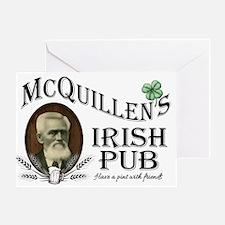 McQuillen's Irish Pub Greeting Cards