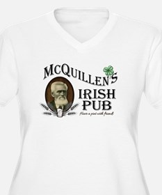 McQuillen's Irish Pub Plus Size T-Shirt