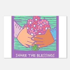 Unique Blessingart Postcards (Package of 8)