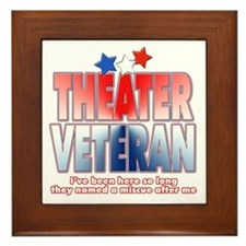 Veteran Miscue Framed Tile
