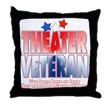 Veteran Miscue Throw Pillow