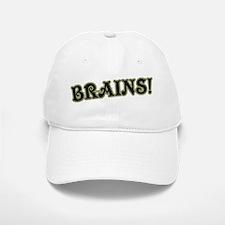 Brains! Baseball Baseball Cap