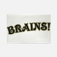 Brains! Rectangle Magnet