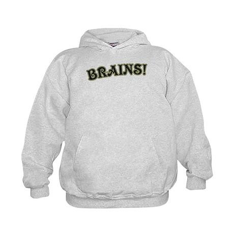 Brains! Kids Hoodie