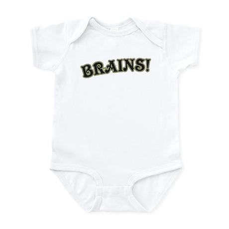 Brains! Infant Bodysuit