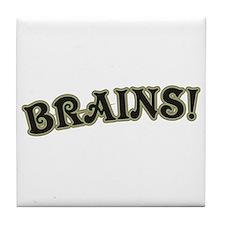 Brains! Tile Coaster