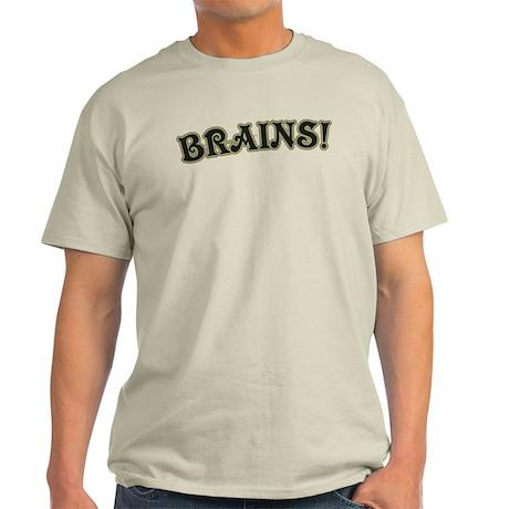 Brains! Light T-Shirt