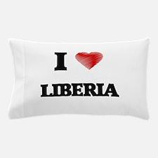 I Love Liberia Pillow Case