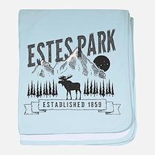 Estes Park Vintage baby blanket