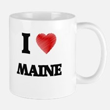 I Love Maine Mugs