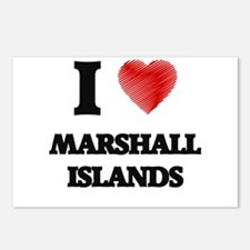 I Love Marshall Islands Postcards (Package of 8)