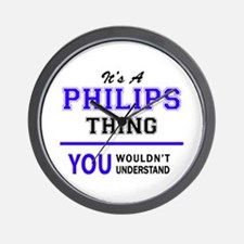 It's PHILIPS thing, you wouldn't unders Wall Clock