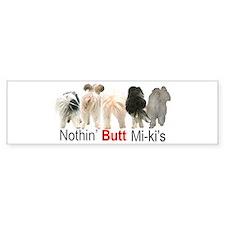 miki Bumper Bumper Sticker