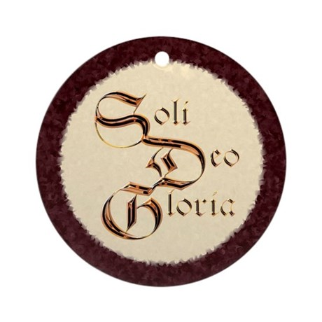 """Soli"" Ornament (Round)"