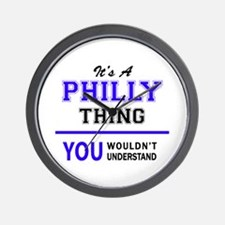 It's PHILLY thing, you wouldn't underst Wall Clock