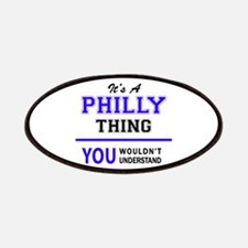 It's PHILLY thing, you wouldn't understand Patch