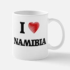 I Love Namibia Mugs