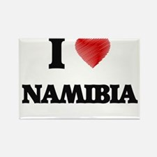 I Love Namibia Magnets