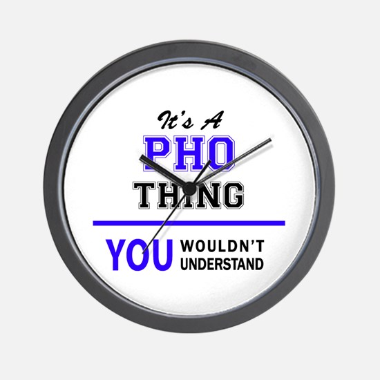 It's PHO thing, you wouldn't understand Wall Clock
