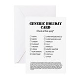 Generic Greeting Cards (20 Pack)