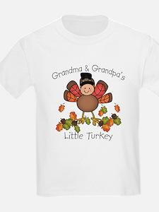 Grandma & Grandpa's Lil Turkey T-Shirt