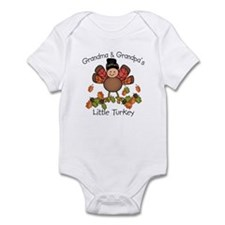 Grandma & Grandpa's Lil Turkey Infant Bodysuit