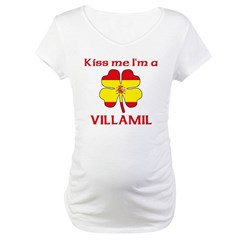 Villamil Family Maternity T-Shirt
