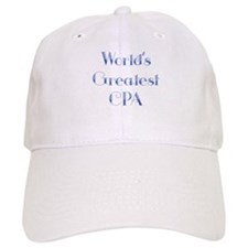 World's Greatest CPA Baseball Cap