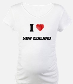 I Love New Zealand Shirt
