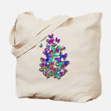 Flutter of Color Tote Bag