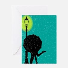 Cool Lamppost Greeting Card
