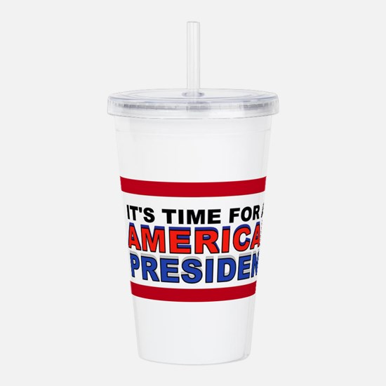 TRUMP FOR PRESIDENT Acrylic Double-wall Tumbler