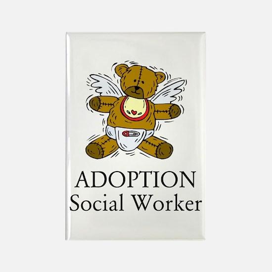 Adoption SW Bear Rectangle Magnet (10 pack)