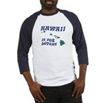 Hawaii is for Lovers Baseball Jersey