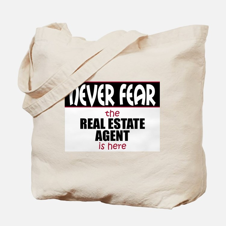 Cute Real estate agents breast cancer Tote Bag