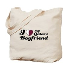 I love my Qatari Boyfriend Tote Bag