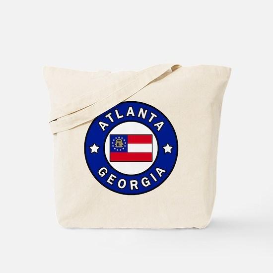 Cool I love atlanta Tote Bag