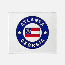 Atlanta Georgia Throw Blanket