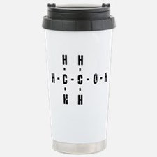 Molecular Alcohol Travel Mug