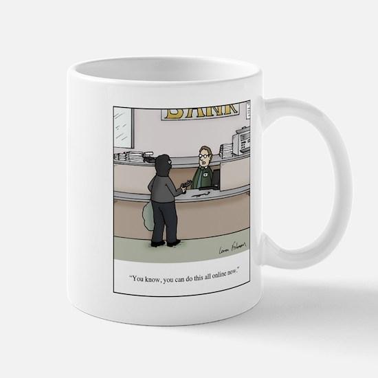 Bank Robbery Online Mug