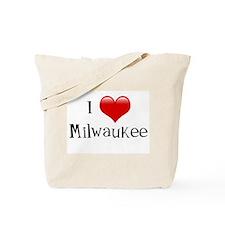 I Love Milwaukee Tote Bag