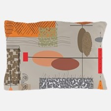 Mid-Century Modern Pillow Case