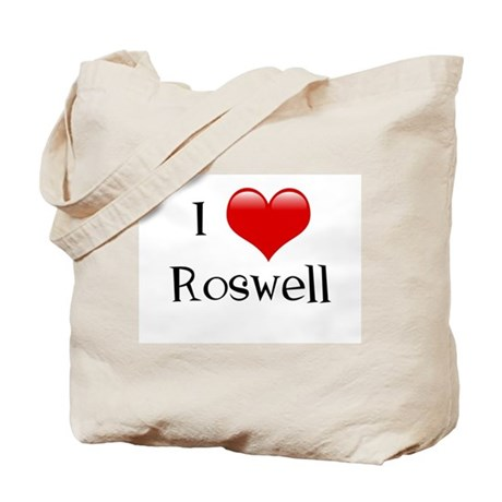 I Love Roswell Tote Bag