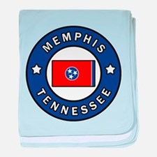 Memphis Tennessee baby blanket
