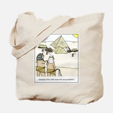Pyramid Teamwork Tote Bag