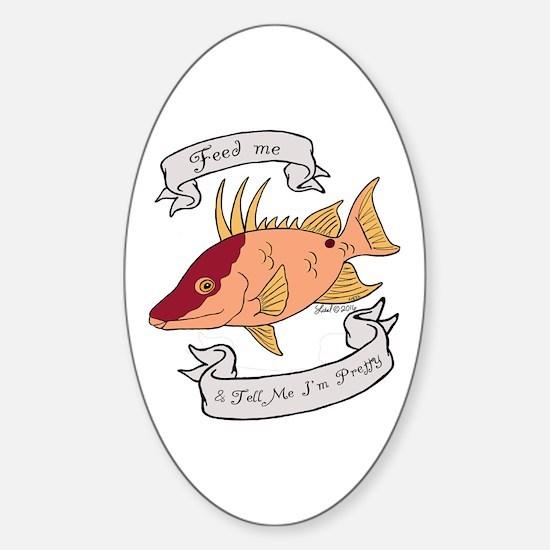 Pretty Hogfish Decal