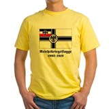 German flag Mens Yellow T-shirts