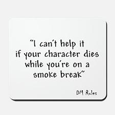 Smoking Kills Mousepad
