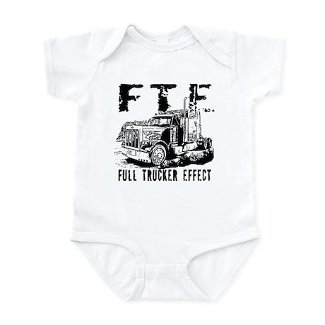 FTE - Black Infant Bodysuit