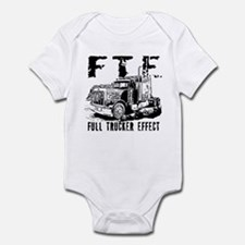 FTE - Black Infant Bodysuit